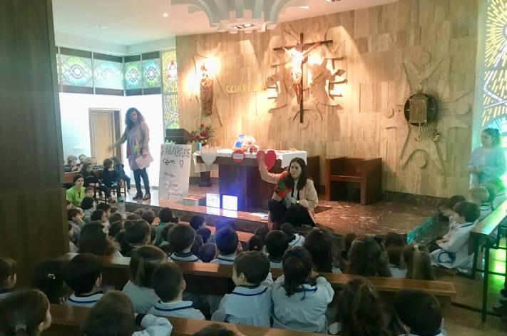 Colegio Santísima Trinidad ceniza 2018 4