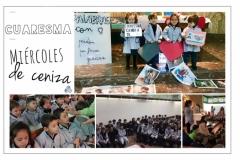 Colegio Santísima Trinidad ceniza 2018