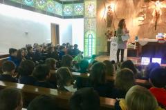 Colegio Santísima Trinidad ceniza 2018 2