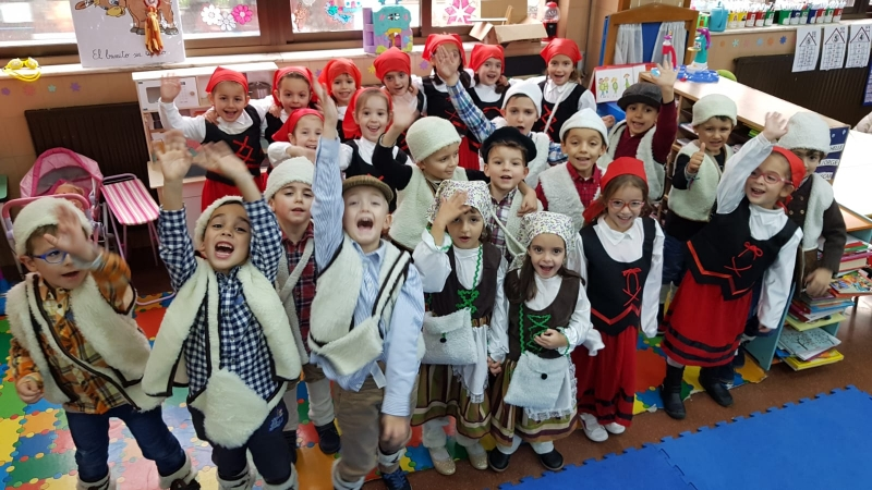 Festival Navidad Colegio Santísima Trinidad 2018